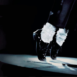 Michael Jackson moonwalk feet