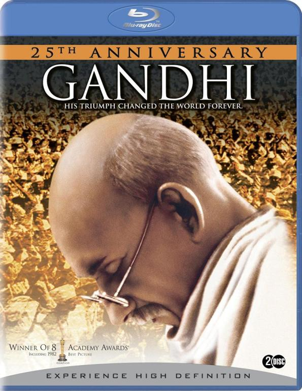 Poster film Gandhi - His Triumph changed the World Forever